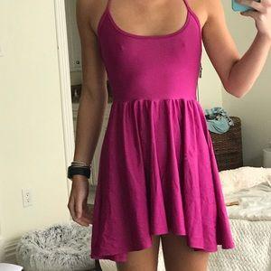 Halter-Tie, Fit&Flare Dress